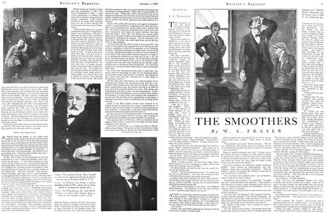 Article Preview: THE SMOOTHERS, January 1926 | Maclean's