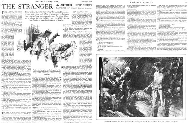 Article Preview: THE STRANGER, January 1926 | Maclean's