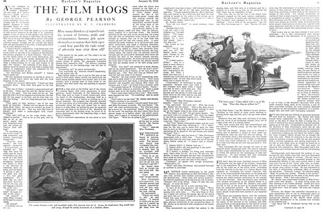 Article Preview: THE FILM HOGS, January 1926 | Maclean's