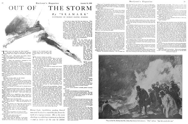 Article Preview: OUT OF THE STORM, January 1926 | Maclean's