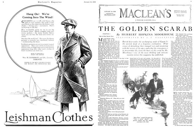 Article Preview: THE GOLDEN SCARAB, January 1926 | Maclean's