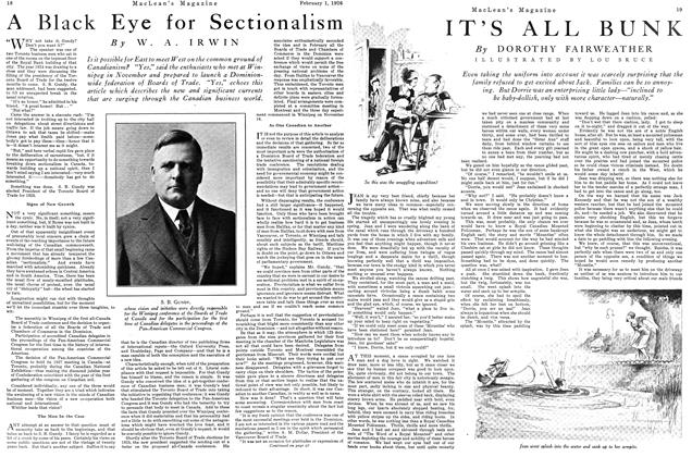 Article Preview: A Black Eye for Sectionalism, February 1926 | Maclean's