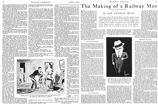 Article Preview: The Making of a Railway Man, February 1926 | Maclean's