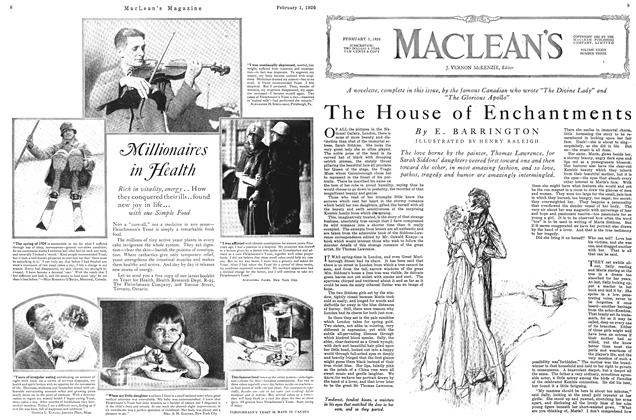 Article Preview: The House of Enchantments, February 1926 | Maclean's