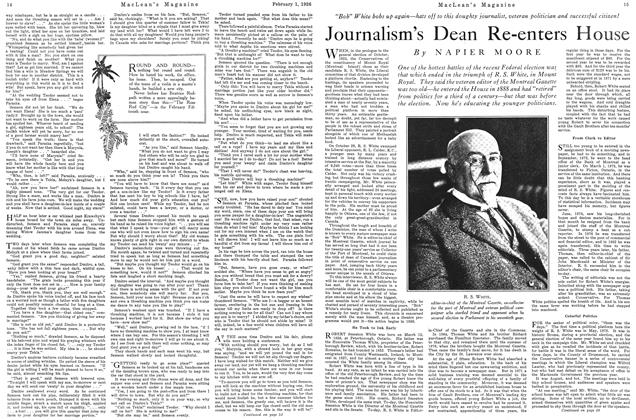 Article Preview: Journalism's Dean Re-enters House, February 1926 | Maclean's