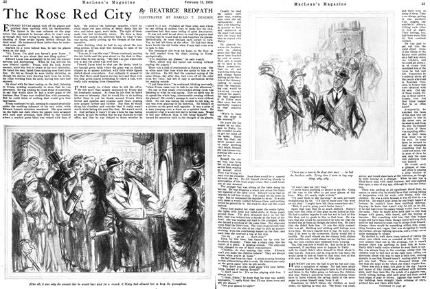 Article Preview: The Rose Red City, February 1926 | Maclean's