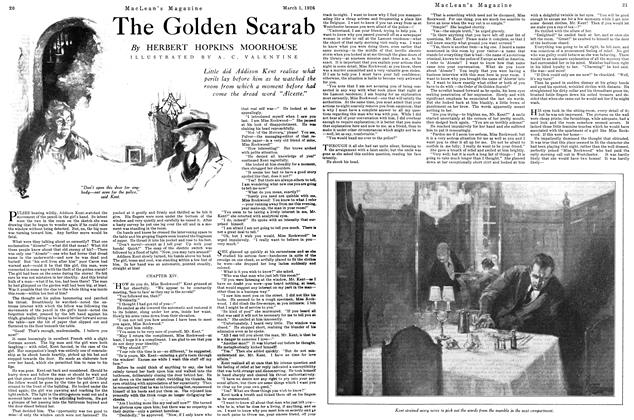 Article Preview: The Golden Scarab, March 1926 | Maclean's