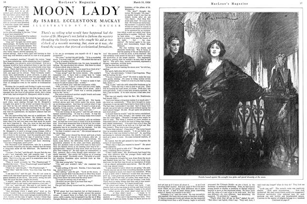 Article Preview: MOON LADY, March 1926 | Maclean's