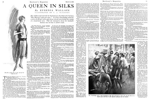 Article Preview: A QUEEN IN SILKS, March 1926 | Maclean's