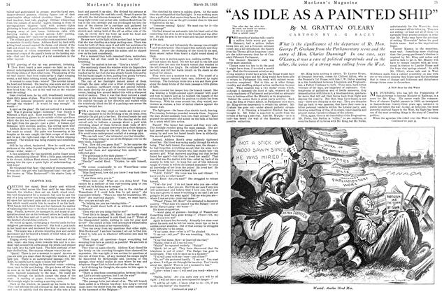 """Article Preview: """"AS IDLE AS A PAINTED SHIP"""", March 1926 
