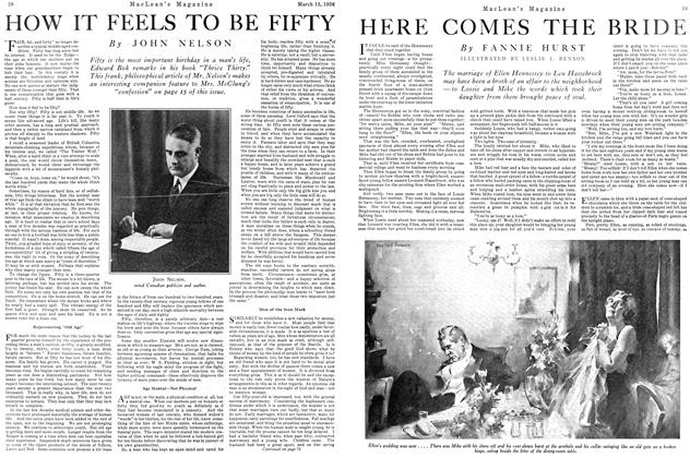 Article Preview: HERE COMES THE BRIDE, March 1926 | Maclean's