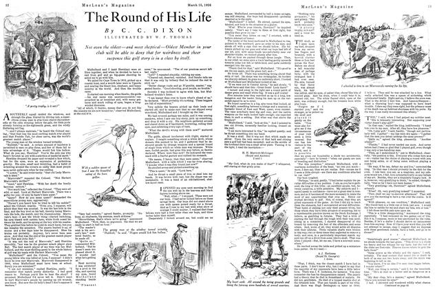 Article Preview: The Round of His Life, March 1926 | Maclean's