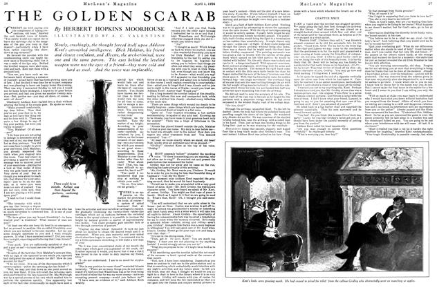 Article Preview: THE GOLDEN SCARAB, April 1926 | Maclean's