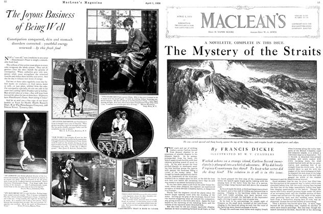 Article Preview: The Mystery of the Straits, April 1926 | Maclean's