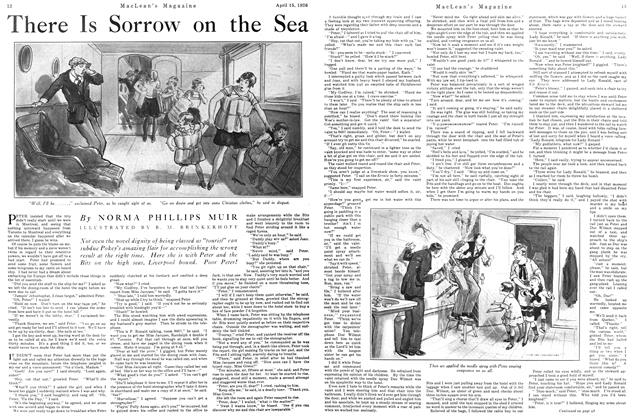 Article Preview: There Is Sorrow on the Sea, April 1926 | Maclean's