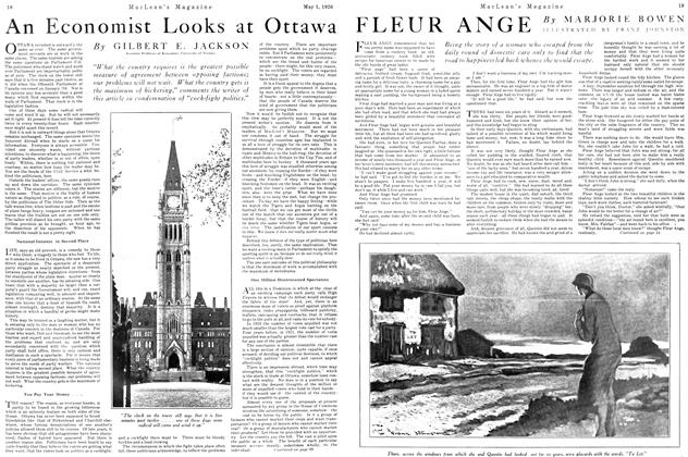 Article Preview: An Economist Looks at Ottawa, May 1926 | Maclean's