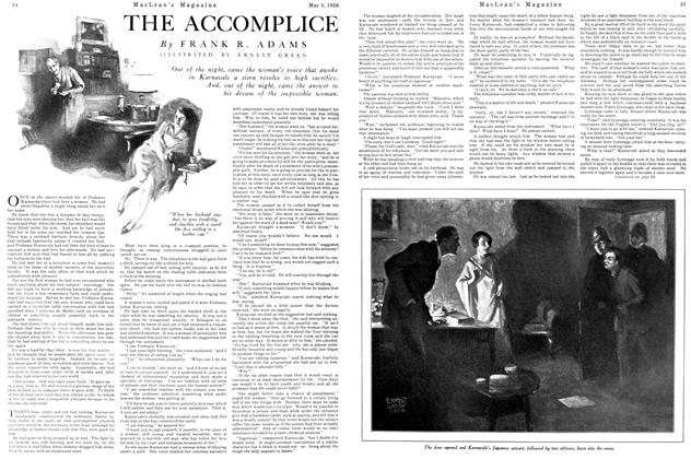 Article Preview: THE ACCOMPLIENCE, May 1926 | Maclean's