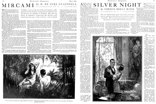 Article Preview: SILVER NIGHT, May 1926 | Maclean's