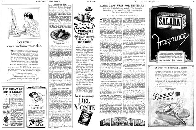 Article Preview: SOME NEW USES FOR RHUBARB, May 1926 | Maclean's