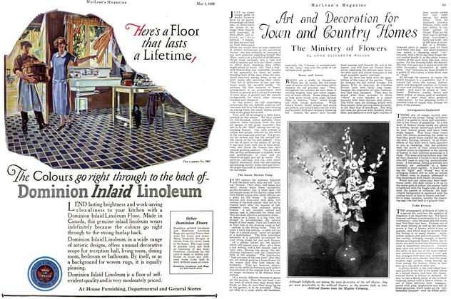 Article Preview: The Ministry of Flowers, May 1926 | Maclean's