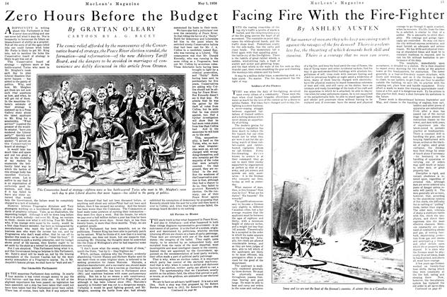 Article Preview: Facing Fire With the Fire-Fighter, May 1926 | Maclean's