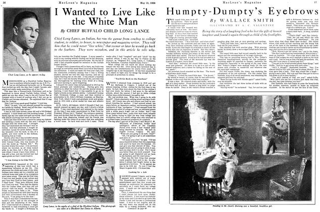 Article Preview: Humpty-Dumpty's Eyebrows, May 1926 | Maclean's