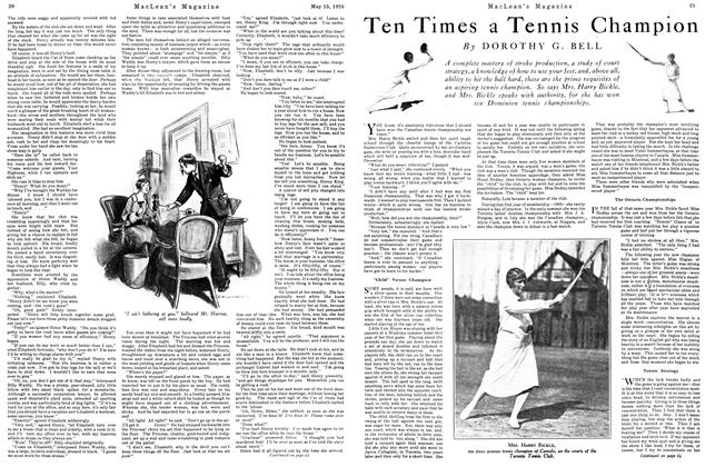 Article Preview: Ten Times a Tennis Champion, May 1926 | Maclean's