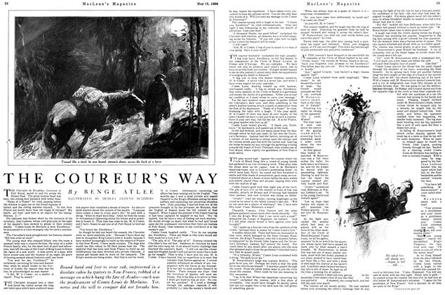 Article Preview: THE COUREUR'S WAY, May 1926 | Maclean's