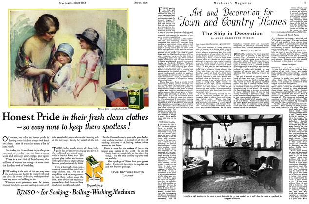 Article Preview: The Ship in Decoration, May 1926 | Maclean's