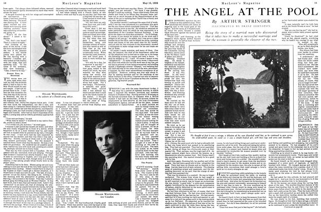 Article Preview: THE ANGEL AT THE POOL, May 1926 | Maclean's