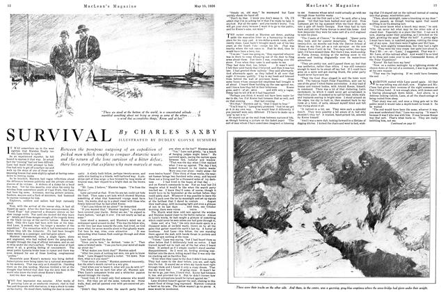 Article Preview: SURVIVAL, May 1926 | Maclean's