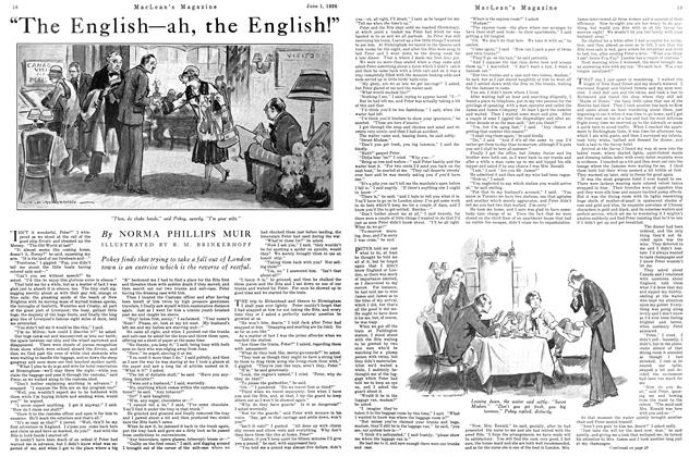 "Article Preview: ""The English ah, the English!"", June 1926 