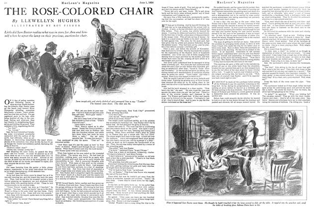 Article Preview: THE ROSE-COLORED CHAIR, June 1926 | Maclean's