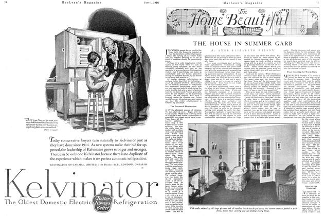 Article Preview: THE HOUSE IN SUMMER GARB, June 1926 | Maclean's