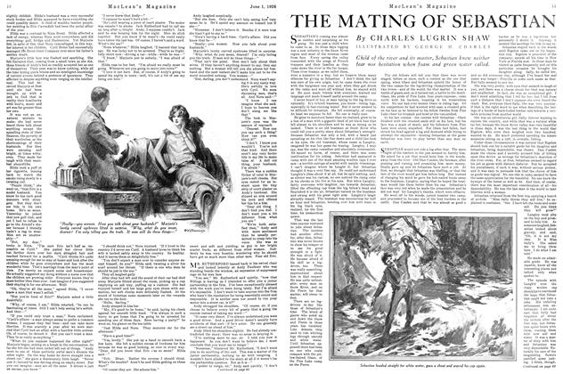 Article Preview: THE MATING OF SEBASTIAN, June 1926 | Maclean's