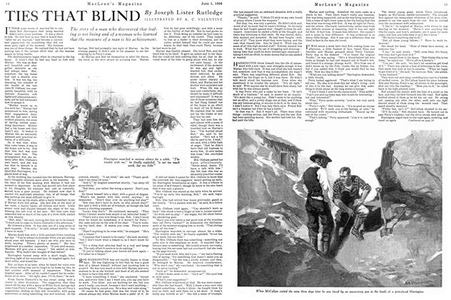 Article Preview: TIES THAT BLIND, June 1926 | Maclean's