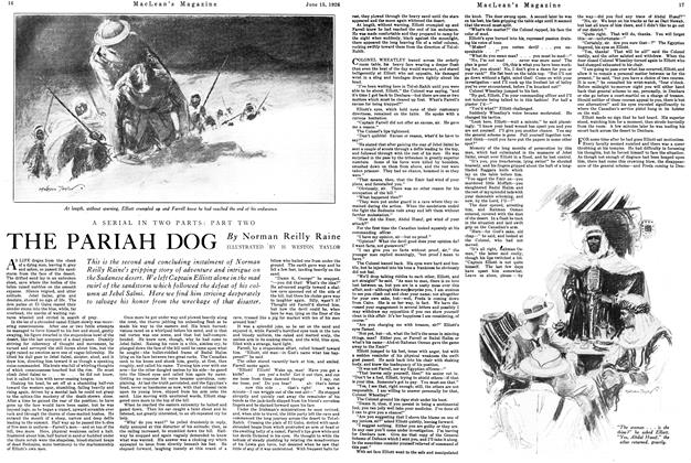 Article Preview: THE PARIAH DOG, June 1926 | Maclean's