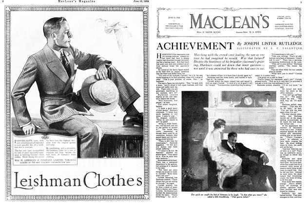 Article Preview: ACHIEVEMENT, June 1926 | Maclean's
