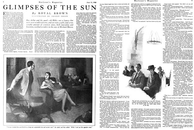 Article Preview: GLIMPSES OF THE SUN, June 1926 | Maclean's
