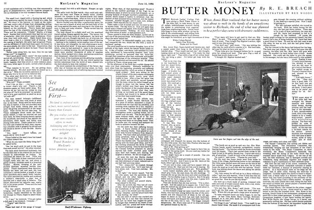 Article Preview: BUTTER MONEY, June 1926 | Maclean's