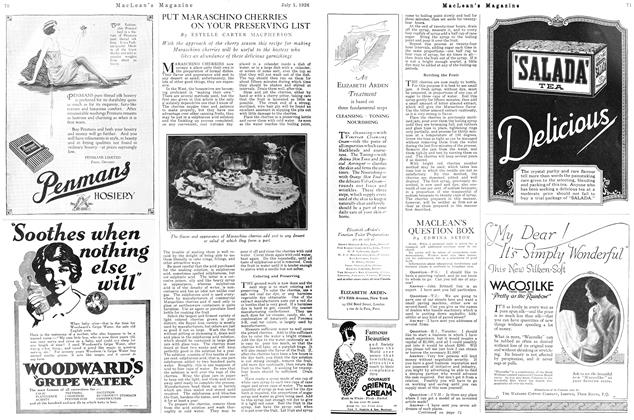 Article Preview: MACLEAN'S QUESTION BOX, July 1926 | Maclean's