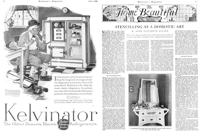 Article Preview: STENCILLING AS A DOMESTIC ART, July 1926 | Maclean's