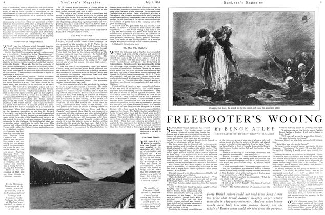 Article Preview: FREEBOOTER'S WOOING, July 1926 | Maclean's
