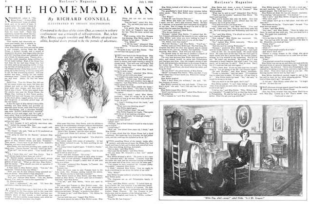 Article Preview: THE HOMEMADE MAN, July 1926 | Maclean's