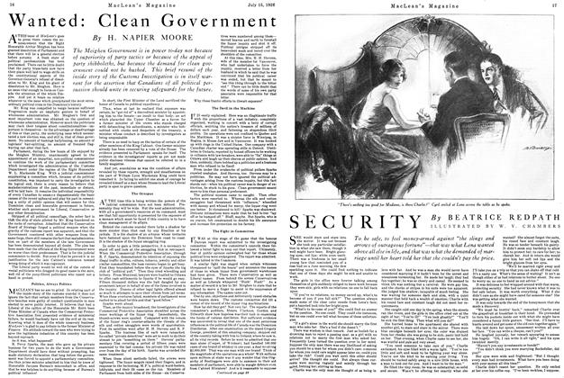 Article Preview: SECURITY, July 1926 | Maclean's