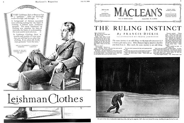 Article Preview: THE RULING INSTINCT, July 1926 | Maclean's