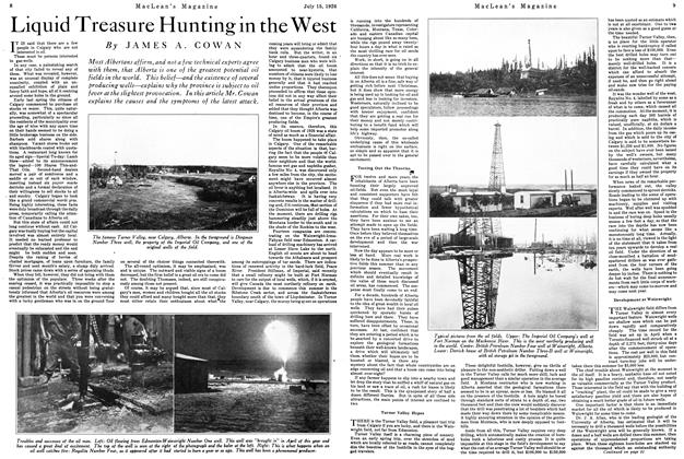 Article Preview: Liquid Treasure Hunting in the West, July 1926 | Maclean's
