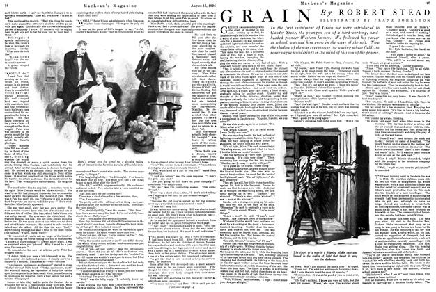 Article Preview: GRAIN, August 1926 | Maclean's