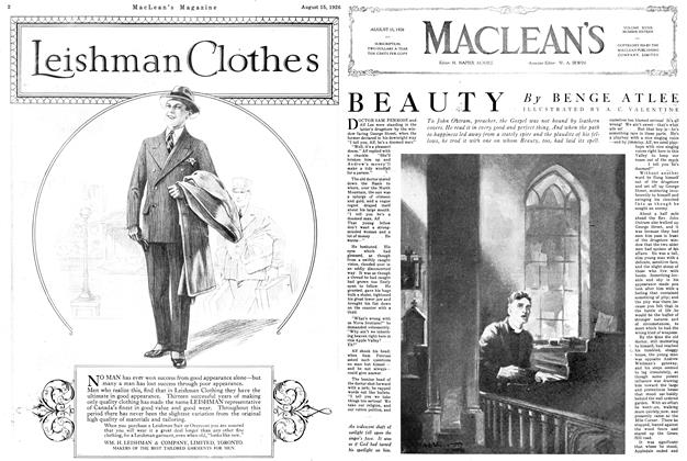 Article Preview: BEAUTY, August 1926 | Maclean's