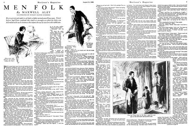 Article Preview: MEN FOLK, August 1926 | Maclean's